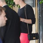 Marion Cotillard leaving the Dorchester Hotel 106388