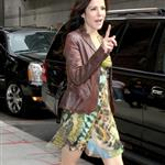 Mary Louise Parker arrives at The Late Show studios 107034