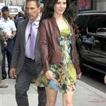 Mary Louise Parker arrives at The Late Show studios 107035