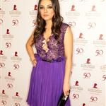 Mila Kunis at St. Jude Childrens Hospital's 50th Anniversary Benefit Gala 96831