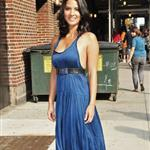 Olivia Munn arrives at The Late Show with David Letterman 107008