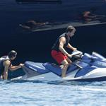 Rafael Nadal on holiday in Italy 106093