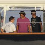 Rafael Nadal on holiday in Italy 106098