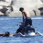 Rafael Nadal on holiday in Italy 106101