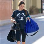 Nikki Reed leaves the gym in LA  102098