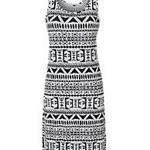 BLONDE & BLONDE  Aztec Maxi Dress 105621