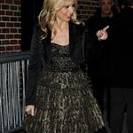 Sarah Michelle Gellar arrives at The Late Show with David Letterman 98071