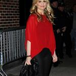Sarah Michelle Gellar arrives at The Late Show with David Letterman 98078