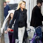 Kate Moss out in London with daughter and friends 96275